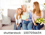 motherhood parenthood... | Shutterstock . vector #1007056654