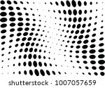 abstract halftone wave dotted... | Shutterstock .eps vector #1007057659