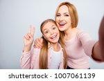 self portrait of funny  comic ... | Shutterstock . vector #1007061139