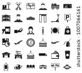 loader icons set. simple style... | Shutterstock .eps vector #1007066161