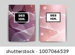 light pink vector brochure for...