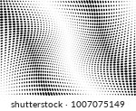 abstract halftone wave dotted... | Shutterstock .eps vector #1007075149