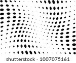 abstract halftone wave dotted... | Shutterstock .eps vector #1007075161