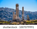 Small photo of Temple of Hercules, the number one and most visited tourist attraction of Amman, capital city of Jordan