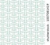 basket weave seamless pattern.... | Shutterstock .eps vector #1007081419