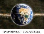 3d illustration of planet earth ... | Shutterstock . vector #1007085181
