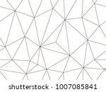 vector seamless pattern. modern ... | Shutterstock .eps vector #1007085841