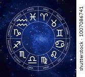 vector graphics astrology set... | Shutterstock .eps vector #1007086741