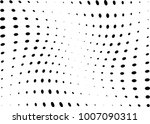 abstract halftone wave dotted... | Shutterstock .eps vector #1007090311
