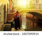 venice  italy   february 18 ...   Shutterstock . vector #1007090914