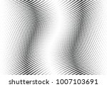 abstract halftone wave dotted... | Shutterstock .eps vector #1007103691