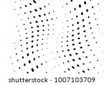 abstract halftone wave dotted... | Shutterstock .eps vector #1007103709