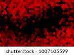 dark red vector low poly... | Shutterstock .eps vector #1007105599