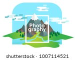 photography illustrated concept ... | Shutterstock .eps vector #1007114521