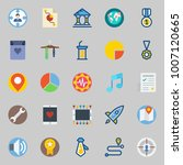 icons set about digital...   Shutterstock .eps vector #1007120665
