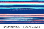 brush strokes and stripes with... | Shutterstock .eps vector #1007126611