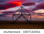 playground on the beach at... | Shutterstock . vector #1007132461