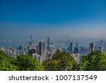 beautiful view of the skyline... | Shutterstock . vector #1007137549