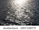 reflections on the blue sky .... | Shutterstock . vector #1007138575