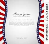 template with a pattern of... | Shutterstock .eps vector #1007151085
