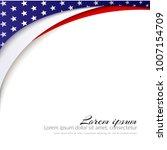 American Flag Vector Backgroun...