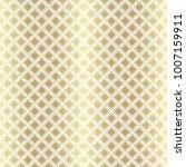 gold metallic regular seamless...   Shutterstock . vector #1007159911