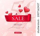 elegant template of sale banner ...   Shutterstock .eps vector #1007162437