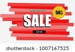 special offer banner  online... | Shutterstock .eps vector #1007167525