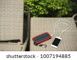 the charger is a verified bank... | Shutterstock . vector #1007194885