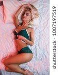 beauty. beautiful sexy young... | Shutterstock . vector #1007197519