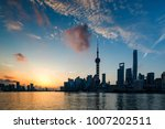 beautiful shanghai pudong...   Shutterstock . vector #1007202511