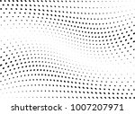 abstract halftone wave dotted... | Shutterstock .eps vector #1007207971