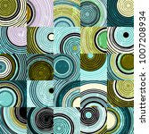 abstract background pattern... | Shutterstock .eps vector #1007208934