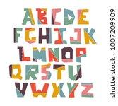 hand lubberly cut vector... | Shutterstock .eps vector #1007209909