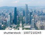guangzhou beautiful city scenery | Shutterstock . vector #1007210245