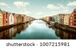 Panorama of Trondheim, Norway