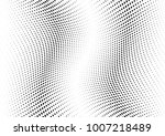 abstract halftone wave dotted... | Shutterstock .eps vector #1007218489