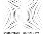 abstract halftone wave dotted... | Shutterstock .eps vector #1007218495