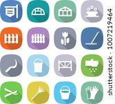 flat vector icon set   shop... | Shutterstock .eps vector #1007219464
