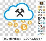 bitcoin cloud hammers...