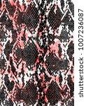 snake skin background | Shutterstock .eps vector #1007236087