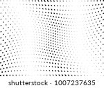 abstract halftone wave dotted... | Shutterstock .eps vector #1007237635