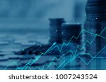 finance and investment concept... | Shutterstock . vector #1007243524