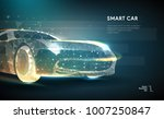 abstract image of a auto in the ... | Shutterstock .eps vector #1007250847