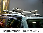 car roof rack transporting...   Shutterstock . vector #1007252317