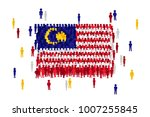 vector malaysia state flag... | Shutterstock .eps vector #1007255845