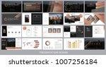 presentation template for... | Shutterstock .eps vector #1007256184