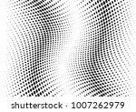 abstract halftone wave dotted... | Shutterstock .eps vector #1007262979