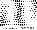 abstract halftone wave dotted... | Shutterstock .eps vector #1007262985