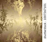 golden abstract background | Shutterstock . vector #1007267101